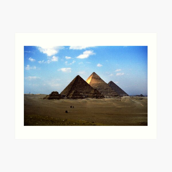 Giza Necropolis  Art Print