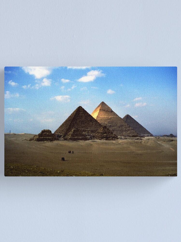 Alternate view of Giza Necropolis  Canvas Print