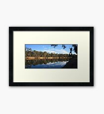 Murray Reflections Framed Print