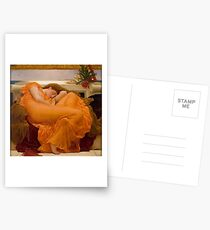 FLAMING JUNE - FREDERIC LEIGHTON Postcards