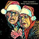 Fröhliches lokales Weihnachten von Doctor Robert's Wall of Daft