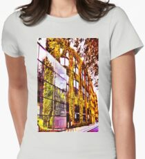 The Living Wall Womens Fitted T-Shirt
