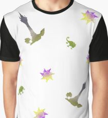 Scatter Inspired Silhouette Graphic T-Shirt