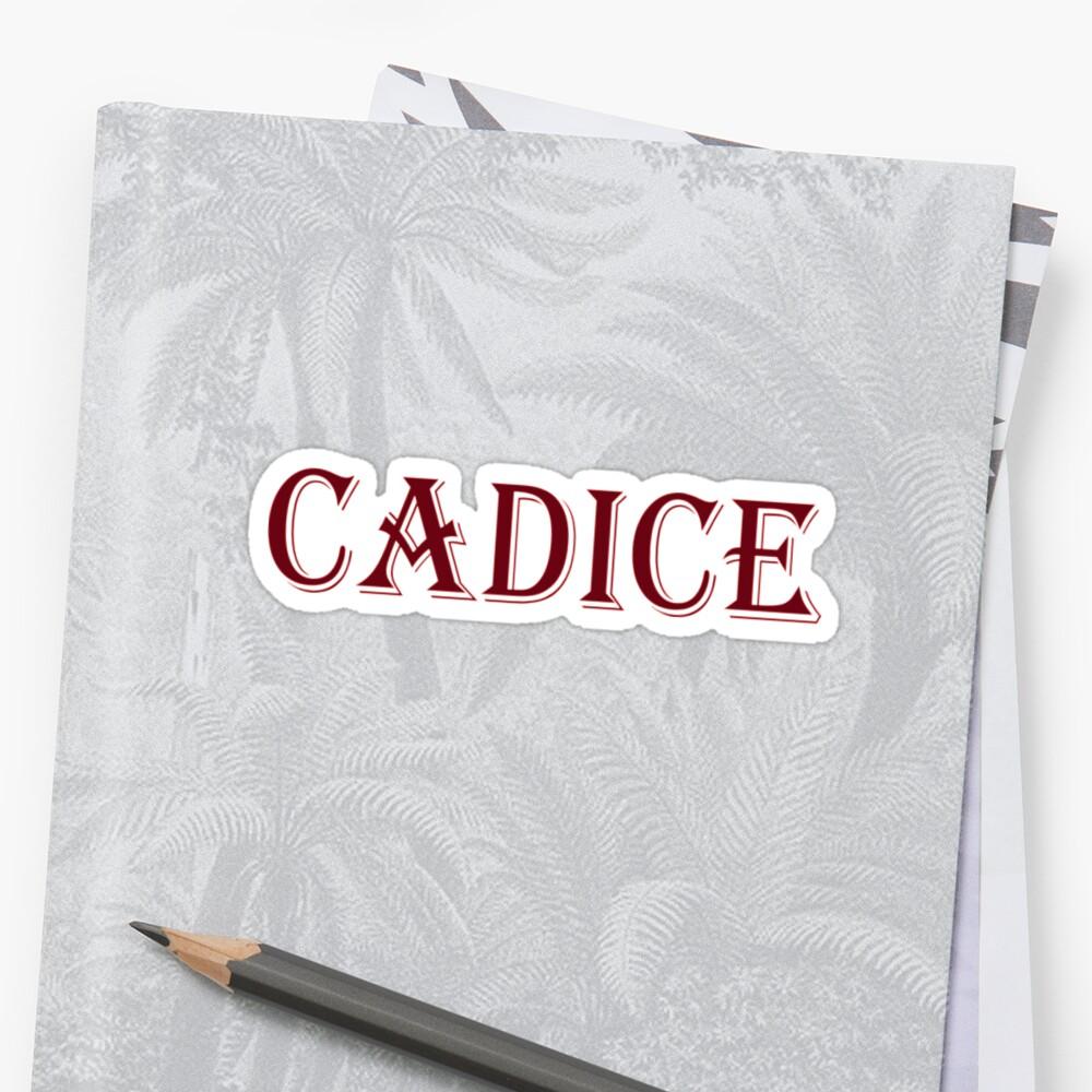 Cadice by Melmel9