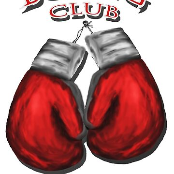 Boxing Club by Patxshirt