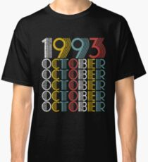Vintage October 1993 Birthday Gifts Classic T-Shirt