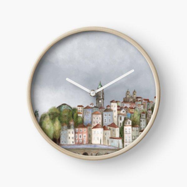Porto landscape Clock