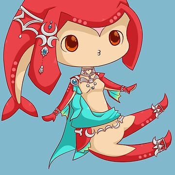 Mipha - BOTW by NibblesGameOver