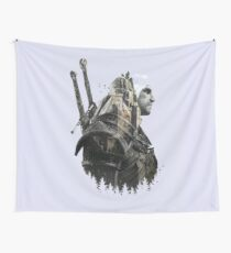 The Wolf Witcher of Kaer Morhen. Wall Tapestry