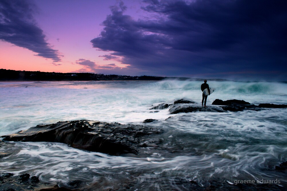 Wait For A Break-Merimbula,NSW by graeme edwards