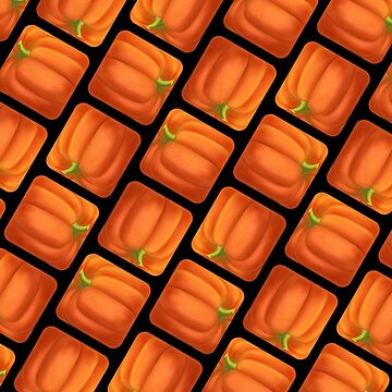Geometric Pumpkins. by ikerpazstudio