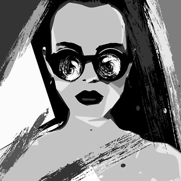 Monochrome Pop Art by NoraMohammed