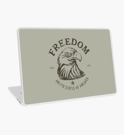 American Freedom Bald Eagle Dark Laptop Skin