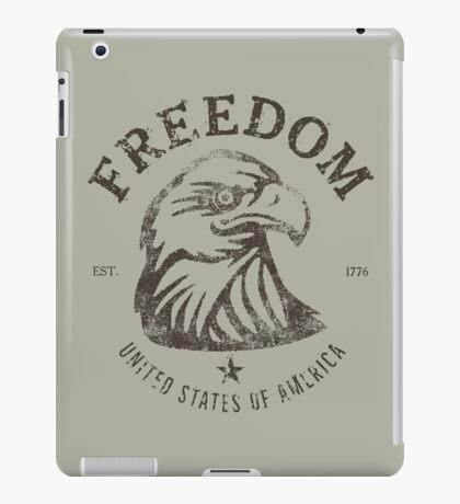 American Freedom Bald Eagle Dark iPad Case/Skin