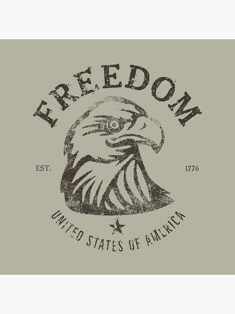American Freedom Bald Eagle Dark by Chocodole