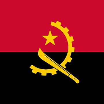 Flag of Angola by virginia50