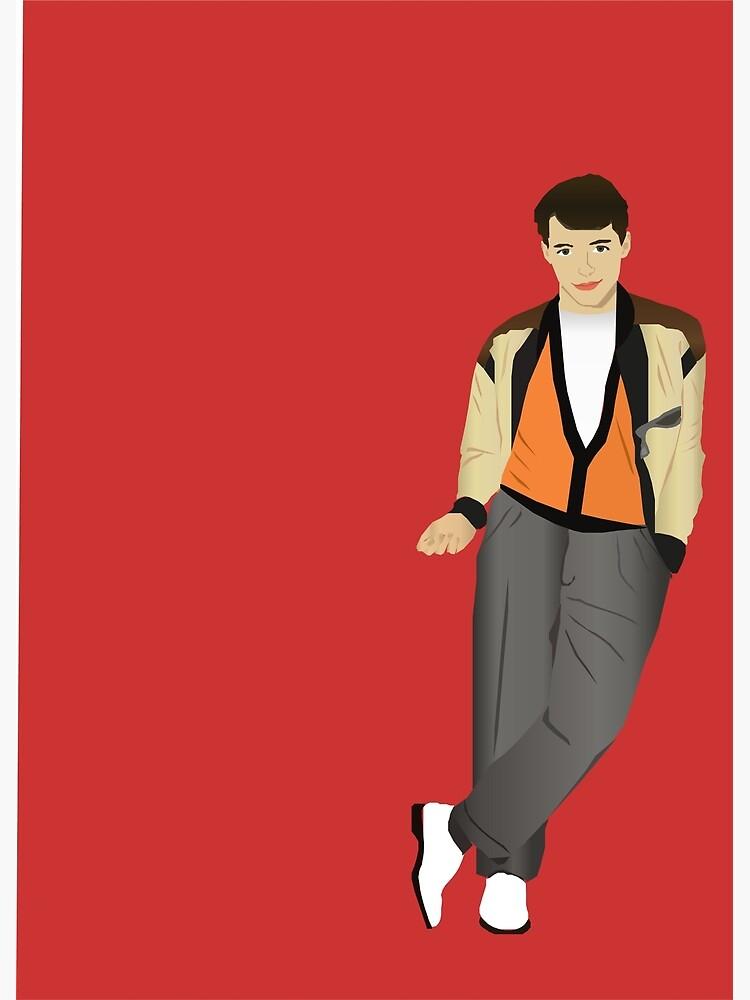 Ferris Bueller von vivivector