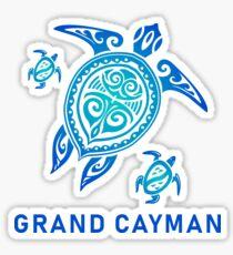 Grand Cayman Stammesschildkröte Sticker