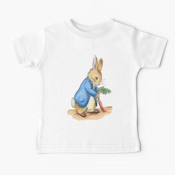 Nursery Characters, Peter Rabbit, Beatrix Potter. Baby T-Shirt