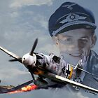 Hauptmann Erich Hartmann by AH-Aviation-Art