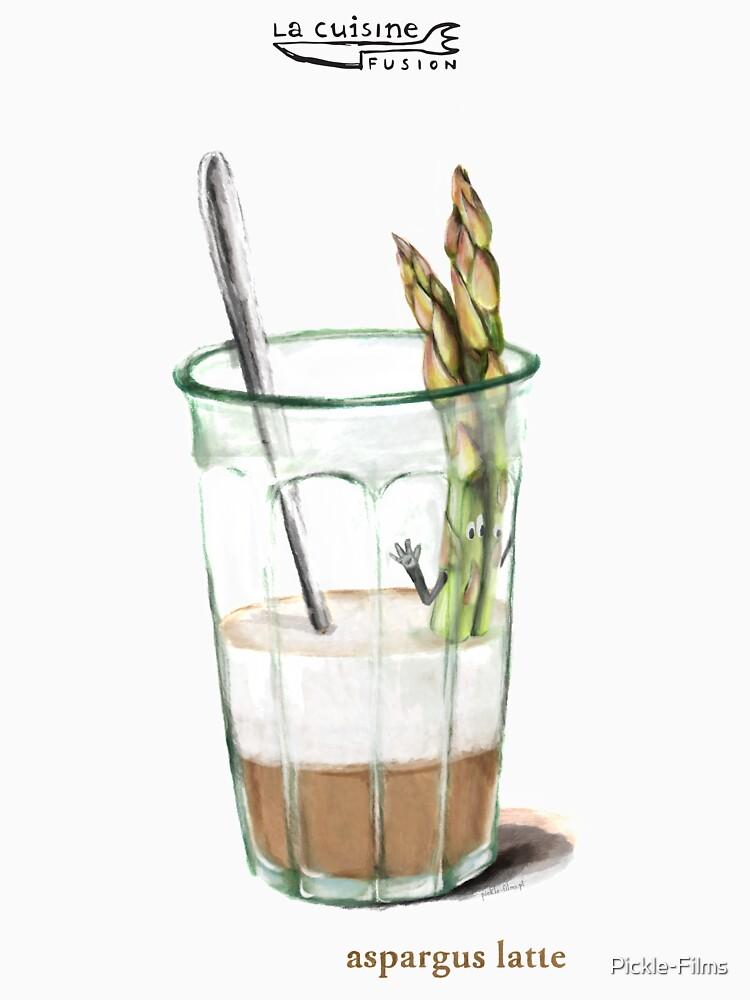 La Cuisine Fusion series - Aspargus Latte by Pickle-Films