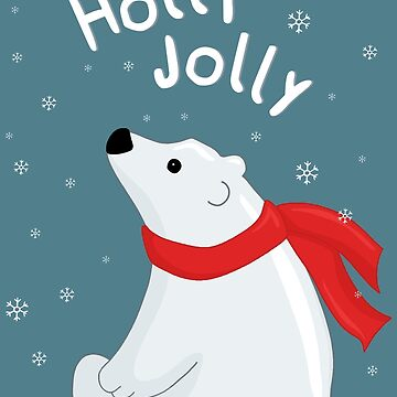 Polar Bear - Holly Jolly by ValentinaHramov