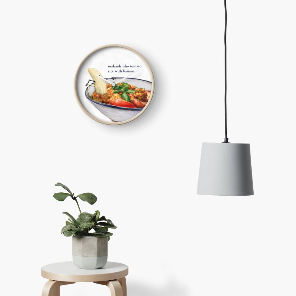 La Cuisine Fusion - Malandrinho Tomato Rice with Banana Clock