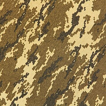 Military pixelated camouflage texture pattern. Abstract background. by IaroslavB