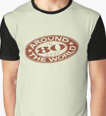Around the World in 80 Days Graphic T-Shirt