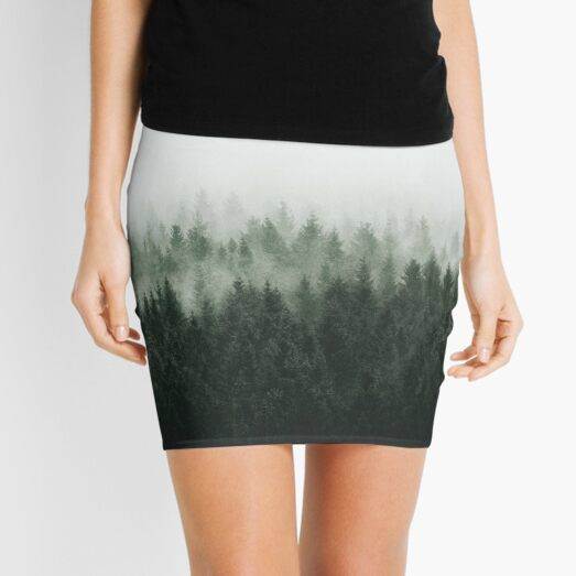 High And Low Mini Skirt