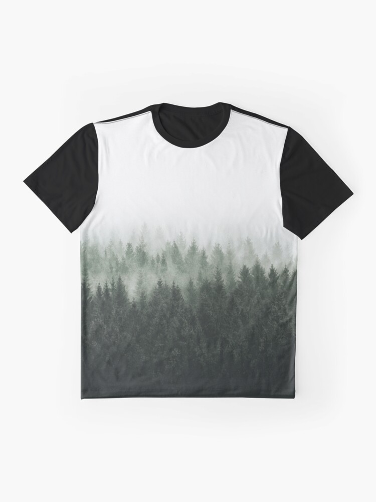 Alternate view of High And Low Graphic T-Shirt