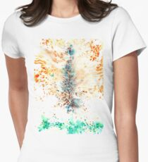 Abstract 3 Women's Fitted T-Shirt