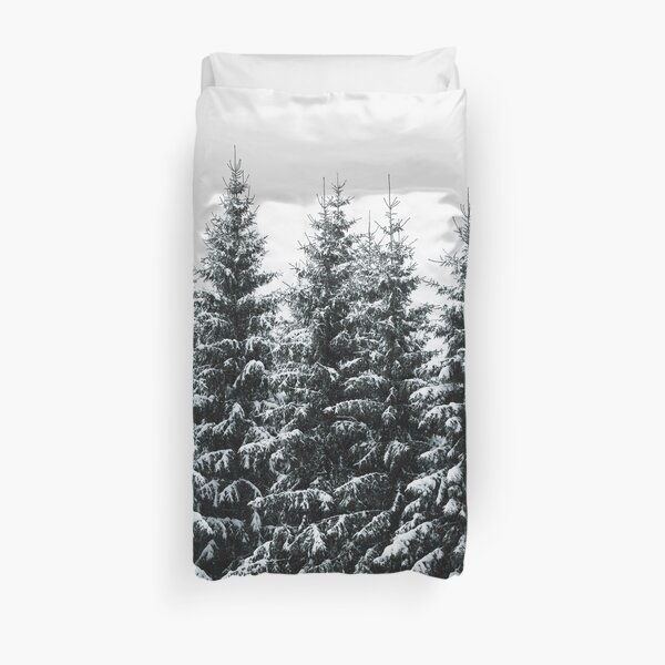 The White Bunch Duvet Cover