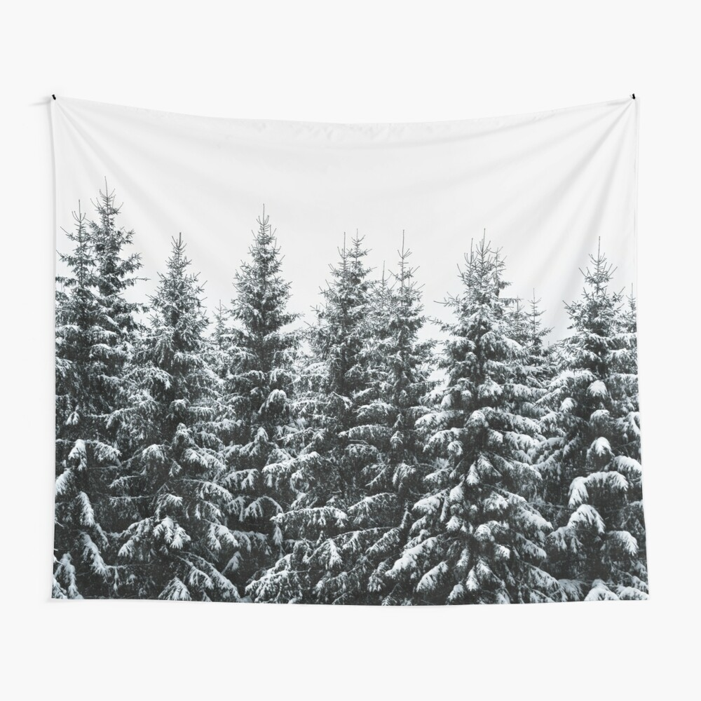 The White Bunch Wall Tapestry