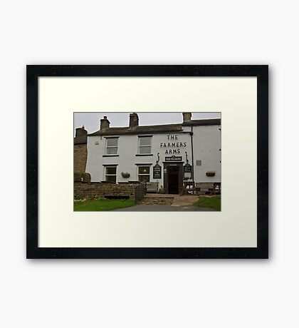 The Farmers Arms - Muker Framed Print