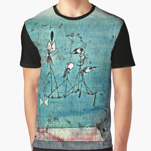 Paul Klee artwork, Twittering Machine Graphic T-Shirt