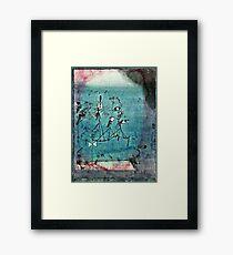 Paul Klee artwork, Twittering Machine Framed Print