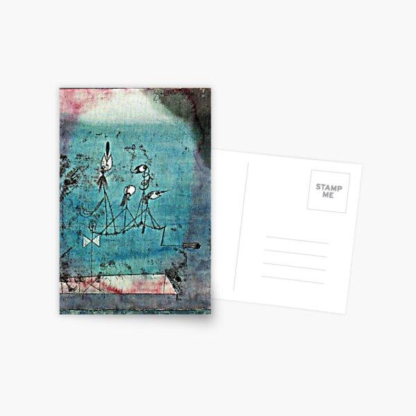 Paul Klee artwork, Twittering Machine Postcard