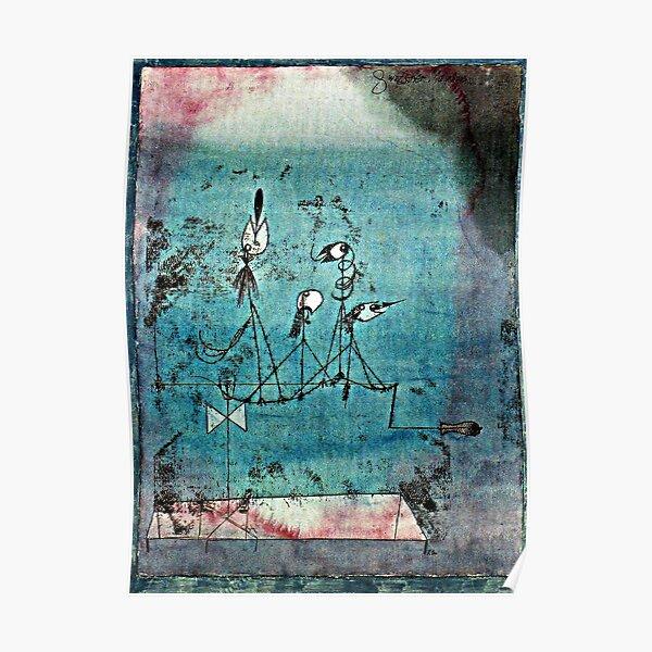 Paul Klee Kunstwerk, Twittering Machine Poster