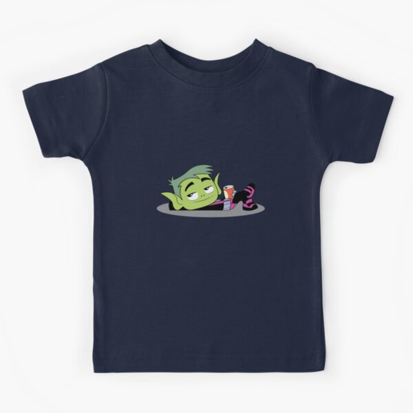 Teen titans go casual beast boy Kids T-Shirt