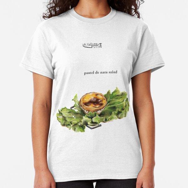 La Cuisine Fusion series - Pastel de Nata Salad Classic T-Shirt