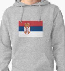 Drapeau serbe Sweat à capuche