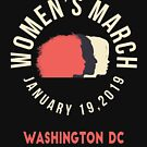 Women's March 2019 Washington DC by oddduckshirts