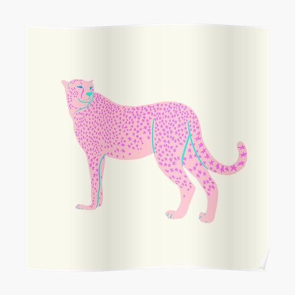 Cheetah Posters Redbubble