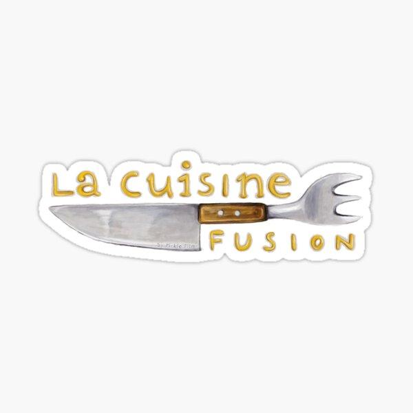 La Cuisine Fusion Sticker