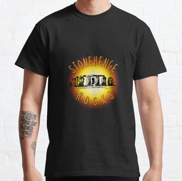 Stonehenge Rocks Graphic Classic T-Shirt