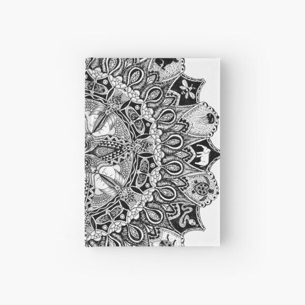 Mandala No.7 Hardcover Journal