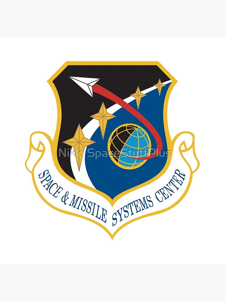 Space and Missile Systems Center Shield by Spacestuffplus