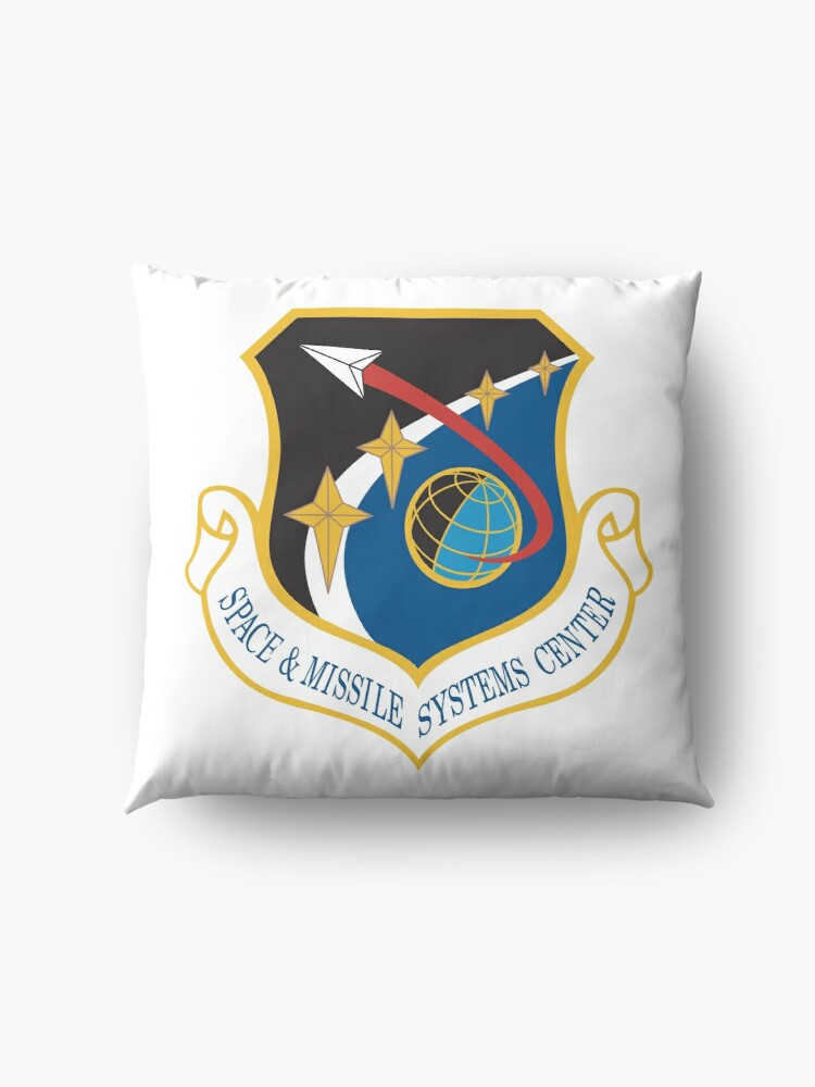 Alternate view of  Space and Missile Systems Center Shield Floor Pillow