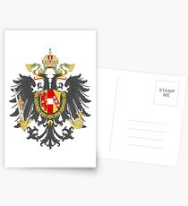 Imperial Coat of Arms of the Austrian Empire Postcards